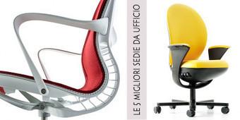 Le 5 migliori sedie da ufficio   best5.it   Scoop.it