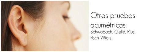 Otras pruebas acumétricas: Schwabach, Lewis-Bing-Federici, Gellé, Rius... | El sentido de la audición | Scoop.it