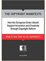 Manifesto Copyright. Como la unión Europea debería de apoyar a innovación y la creatividad a través de la reforma del derecho de autor | Universo Abierto | Big and Open Data, FabLab, Internet of things | Scoop.it