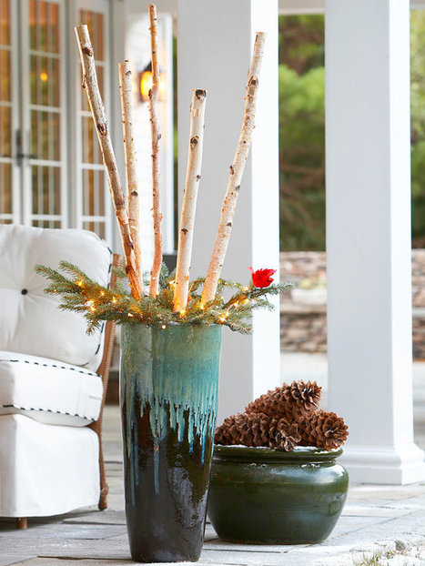 Holiday Inspired Outdoor Decorating That Lasts | Home Improvement Ideas | Scoop.it