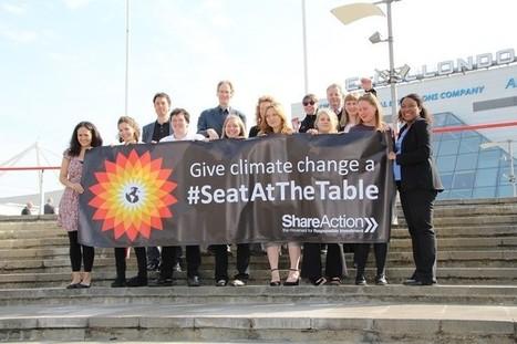 Les actionnaires de BP votent en faveur de l'évaluation du risque carbone | ISO 26000 facilite le développement humain | Scoop.it