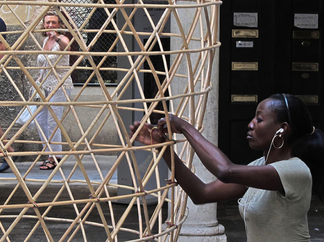 This Giant Basket Captures Drinking Water From the Air! | Inspiring Ideas | Scoop.it