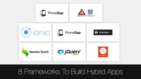 8 Frameworks to Choose From When Building Hybrid Mobile Apps - Openxcell   Latest Technology Trends   Scoop.it