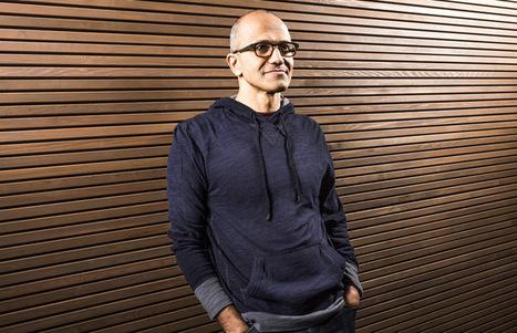 Satya Nadella, le nouveau CEO de Microsoft | délégation e-commerce | Scoop.it