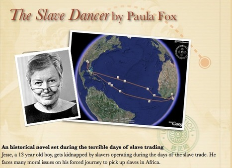 The Slave Dancer by Paula Fox | Google Lit Trips: Reading About Reading | Scoop.it