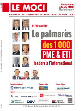 Spécial Palmarès 2014 des PME et ETI leaders à l'international – 6ème édition | Scoop it ! | Scoop.it