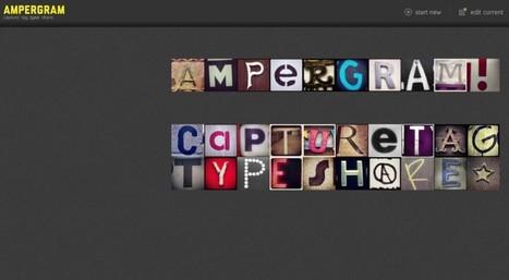 Ampergram, componer palabras con fotografías de Instagram   Recull diari   Scoop.it