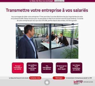Les Scop : lancement d'une campagne de communication à destination des dirigeants de PME | COURRIER CADRES.COM | Reprise | Scoop.it