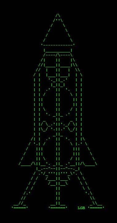 APOLLO - ASCII ART | ASCII Art | Scoop.it