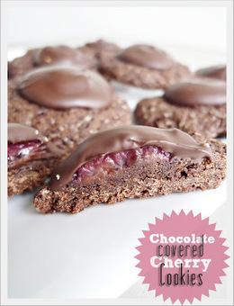 Genusskochen: Chocolate Covered Cherry Cookies | Brownies, Muffins, Cheesecake & andere Leckereien | Scoop.it