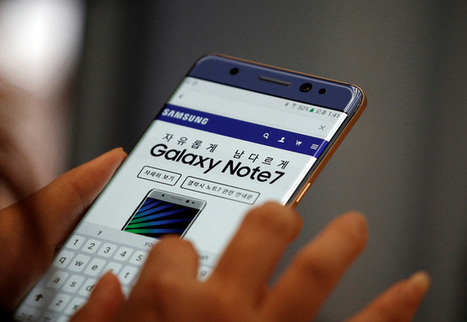 Galaxy Note 7: Samsung stoppe la production | Toulouse networks | Scoop.it