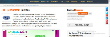 PHP MySQL Web Application Development by Professionals | Website Development Company and their Services | Scoop.it