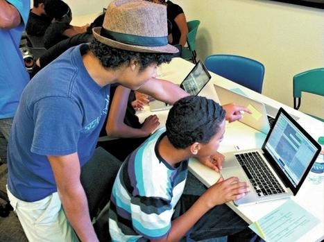 Logging into libraries: Programs helps teens develop multimedia skills | innovative libraries | Scoop.it