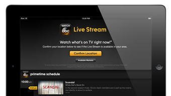 ABC to offer live feed of network online through 'Watch ABC' app | Social Media and TV | Scoop.it