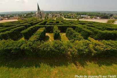 Les labyrinthes géants en France   Découvertes et voyages   Scoop.it