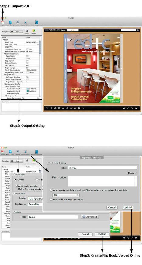 Flip PDF for Mac: Convert PDF to stunning page-flipping ebooks on Mac.[FlipBuilder.com] | Flip Builder Convert pdf to flip book eBook for digital magazine publishing with flip pdf. | Scoop.it
