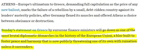 WSJ about Greece | Hidden financial system | Scoop.it