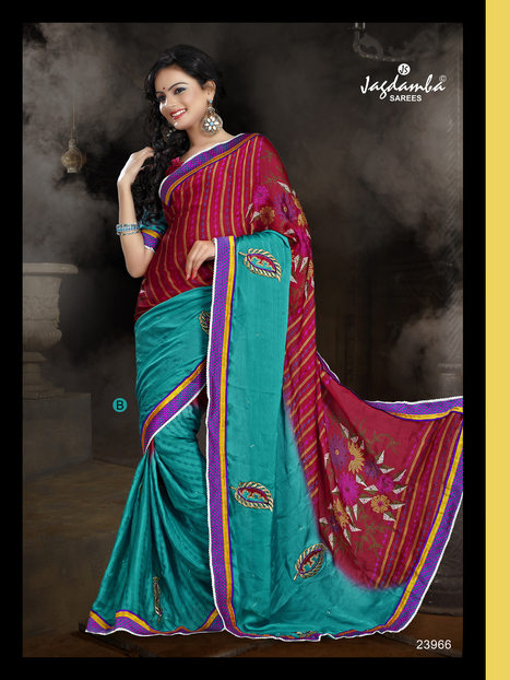 Buy Cheap Sarees Online | Surat Sarees Online from JagdambaSarees | Scoop.it