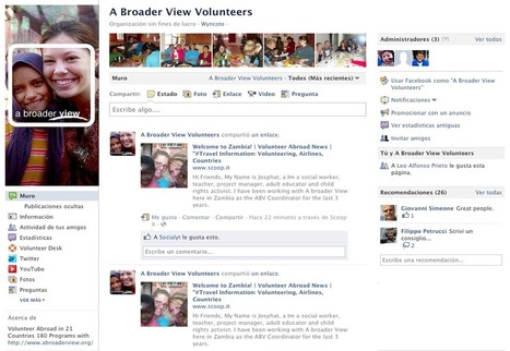 "Helping ABV Facebook social networking | Volunteer Abroad News | ""#Volunteer Abroad Information: Volunteering, Airlines, Countries, Pictures, Cultures"" 