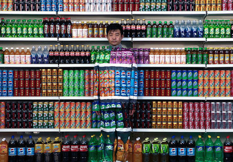 Le camouflage urbain de Liu Bolin | Allicansee | Scoop.it