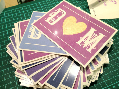 DIY Tutorial: Scratchcard Wedding Invitations | Non solo weddings | Scoop.it