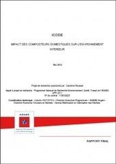 ICODE : Impact des composteurs domestiques sur l'environnement intérieur – ADEME | qualité de l'air intérieur | Scoop.it