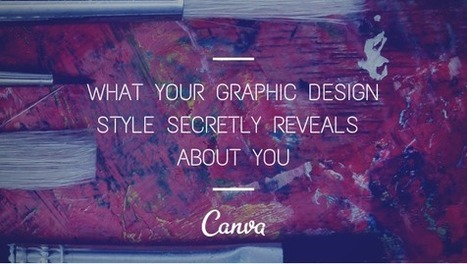 What Your Graphic Design Style Secretly Reveals About You   Graphic Design   Scoop.it