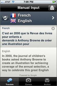 Babelshot (Best App for Translating Printed Text) - Best iPhone Apps - O'Reilly Media | Mobile Japanese English Translation Applications | Scoop.it