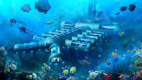Un projet d'hôtel sous-marin avec vue dans la mer | Dans l'actu | Doc' ESTP | Scoop.it