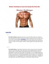 Master Technique to Lose Fat and Get Six Pack Abs | Amazon debuts new Kindle Fire HD tablets, and Kindle Paperwhite e-reader | Scoop.it