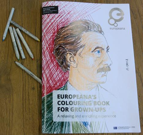 #ColorOurCollections Livre à colorier du domaine public de @Europeanaeu | Ressources pour les Arts Visuels en primaire | Scoop.it