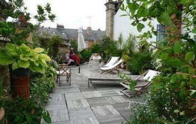 Petits jardins for Amenager un petit jardin carre