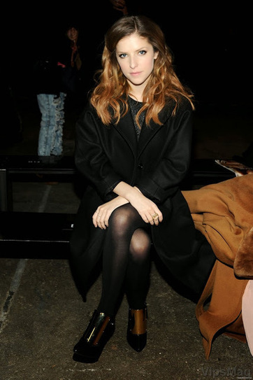 Anna Kendrick catchy stalkings at Philosophy Fashion Show in New York   VipsMag   Sexy Pics   Scoop.it
