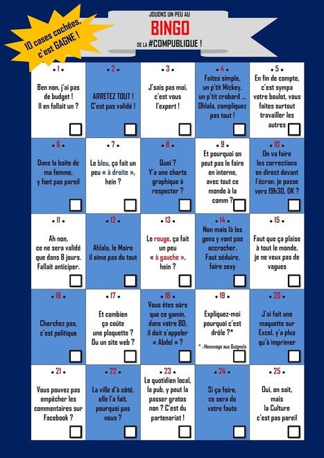 #Drôle : jouons un peu au Bingo de la com' publique...   HeureuxQuiCom'   Scoop.it
