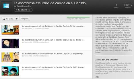 La asombrosa excursión de Zamba en el Cabildo (Lista de reproducción de 4 videos) - Canal Encuentro | Bibliotecas Escolares Argentinas | Scoop.it