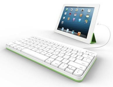 Logitech intros wired iPad keyboard especially for education market - tuaw.com | Educ8 Tech | Scoop.it