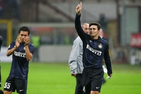 40 year-old Javier Zanetti returns to action after six-month absence | Soccer | Scoop.it