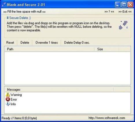 Blank and Secure, software portable y gratuito para borrado seguro de archivos | Recull diari | Scoop.it