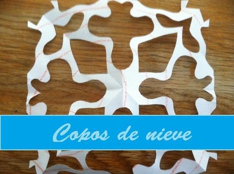 Creatividad Siempre: {Miércoles manualidades} - Copos de nieve ... | MANUALIDADES Y MÁS | Scoop.it