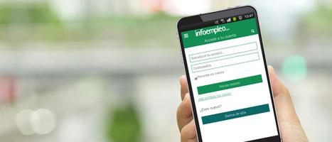 Encuentra empleo desde tu móvil. ¡Estrenamos Web APP! | Editex FOL | Scoop.it
