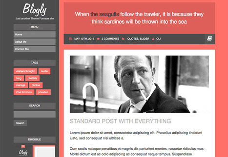 The best free WordPress themes, February 2014 | Web mobile - UI Design - Html5-CSS3 | Scoop.it