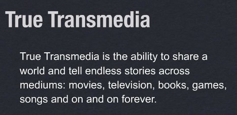 Some Things I've Learned from Transmedia Worldbuilding | Cultura de massa no Século XXI (Mass Culture in the XXI Century) | Scoop.it