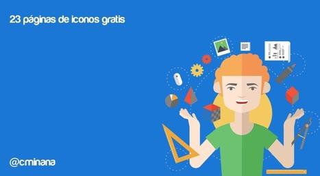 Iconos gratis: 23 páginas para descubrirlos | Educacion, ecologia y TIC | Scoop.it