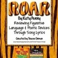 """Roar"" By Katy Perry Figurative Language & Poetic Devices Practice 