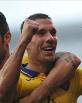 Podolski returns to training to provide Arsenal fitness boost | StaidFitness | Scoop.it
