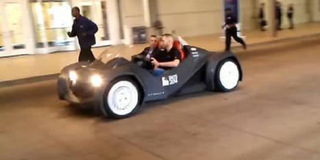 Voici la première voiture imprimée en 3D | Mobilis - Cycle de vie produit | Scoop.it