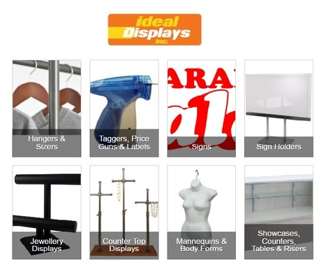 Retail Store Fixtures and Garment Racks in Canada   Store Fixtures, Jewelry Displays, Mannequins, Display Showcases & Much More Toronto, Canada   Scoop.it