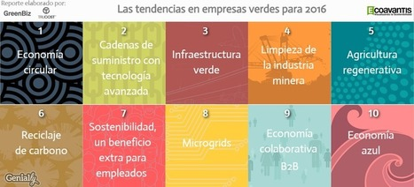 Las tendencias para los negocios verdes en 2016 - Diario Responsable | ECOLOGICAMENTE DISPUESTOS | Scoop.it