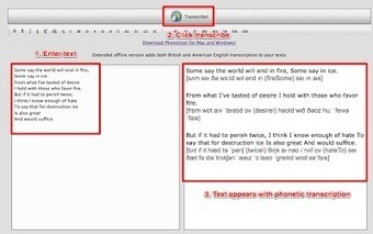 Translate text into phonetic script | Tools for Teachers & Learners | Scoop.it