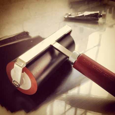 Ten essential materials and tools for linocut - LinocutBoy   Creativity Inspirations   Scoop.it